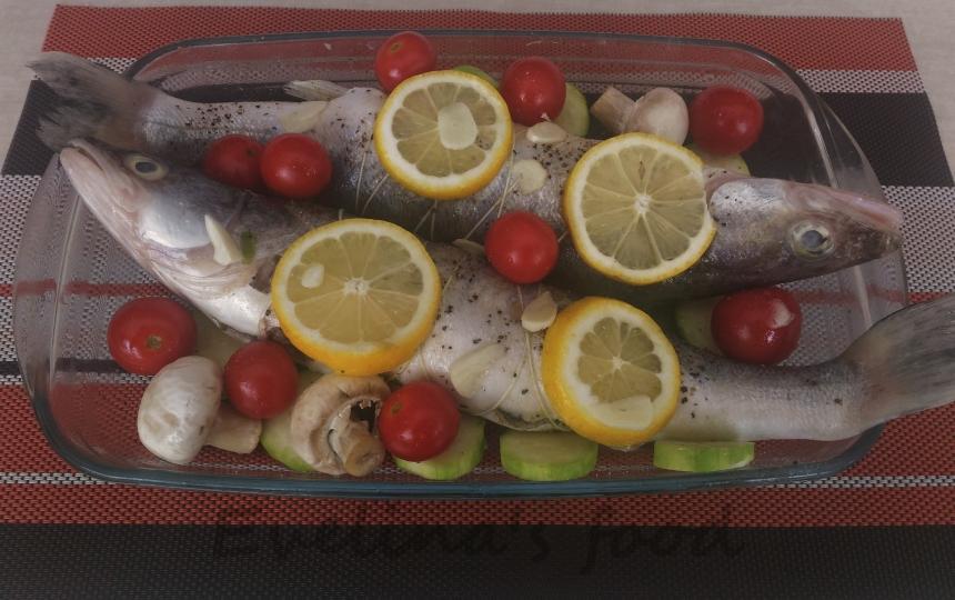 salau cu legume la cuptor (8)