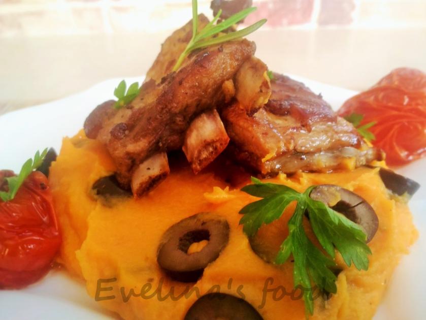 costita-de-miel-cu-piure-de-cartofi-dulci-si-masline-8
