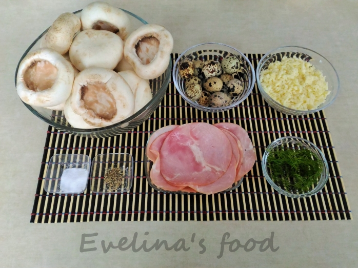 ciuperci-umplute-cu-oua-de-prepelita-ingrediente