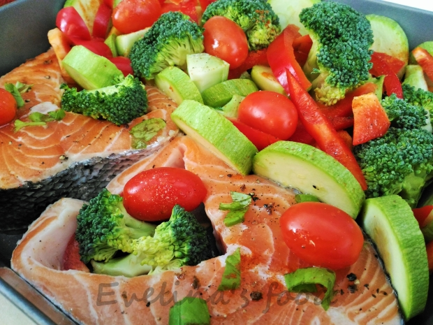 somon cu legume la cuptor (8)