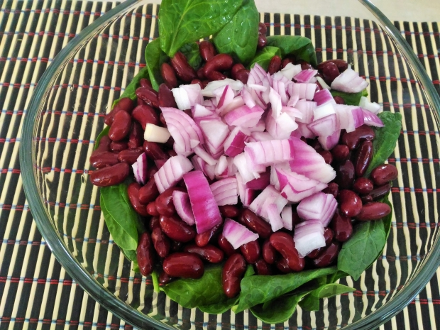 salata cu baby spanac si fasole rosie (3)