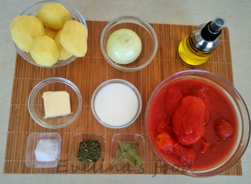 Chiftele cu piure ingrediente