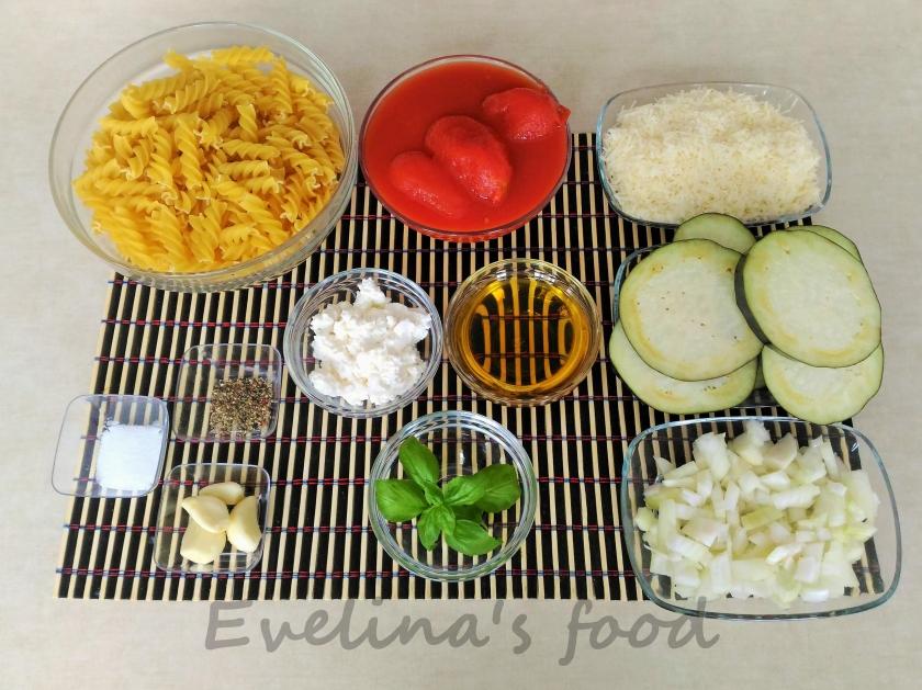 paste alla norma ingrediente