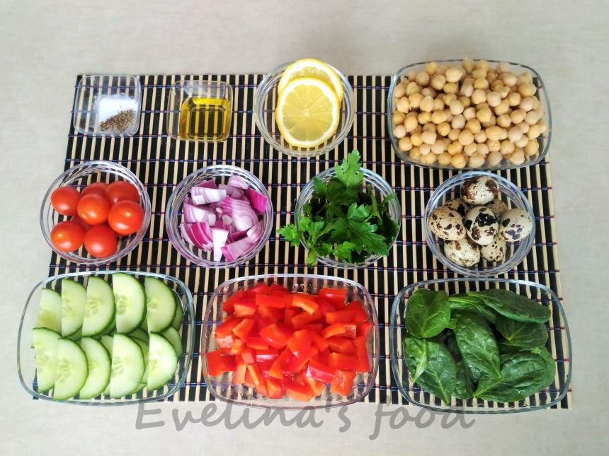 Salata de naut ingrediente