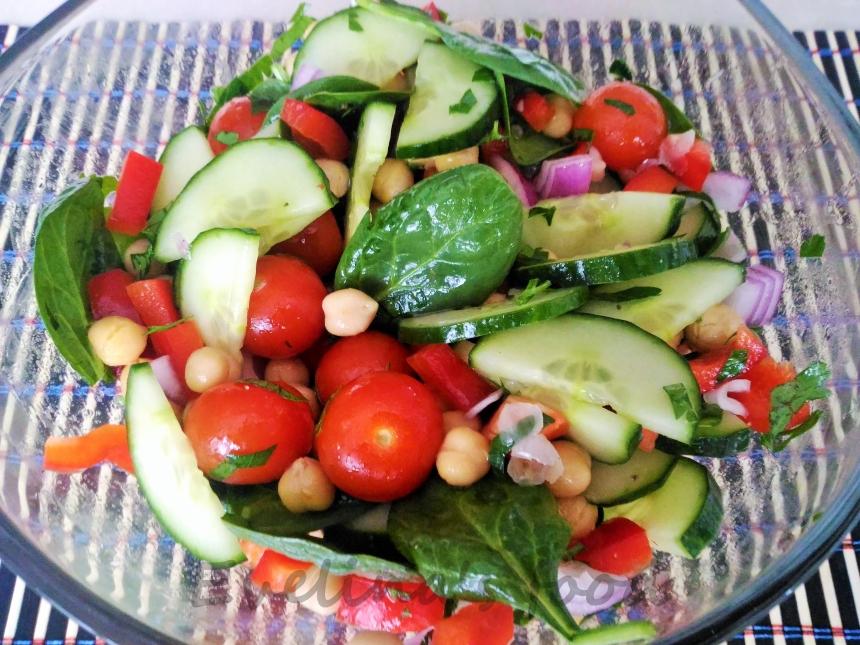 Salata de naut preparare