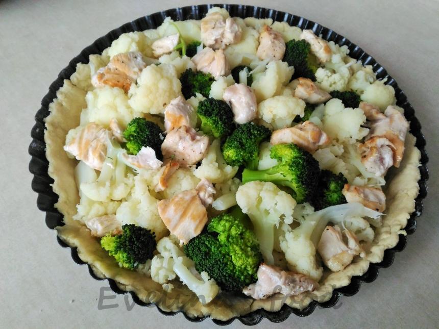 Tarta cu conopida si broccoli (25)