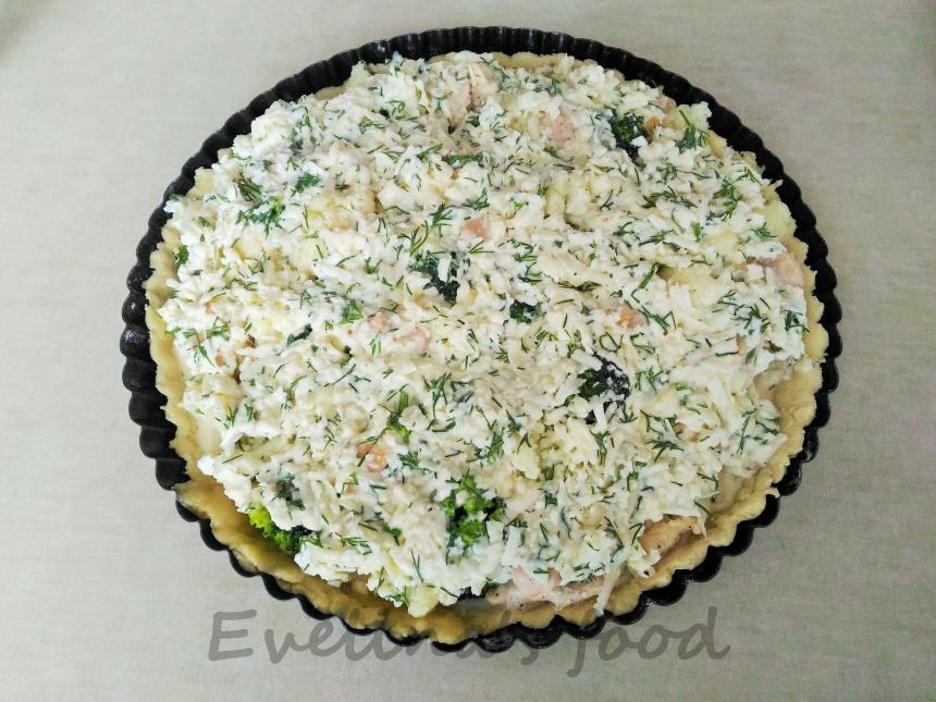 Tarta cu conopida si broccoli (27)