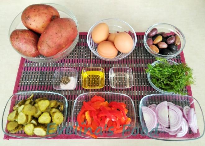 salata orientala ingrediente