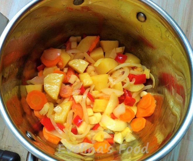 Supa de fasole pastai (3)