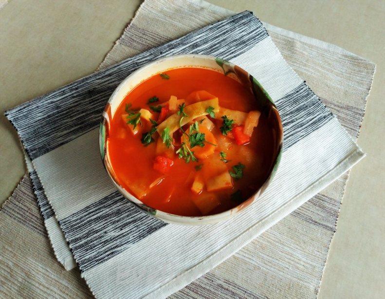 Supa de fasole pastai (6)