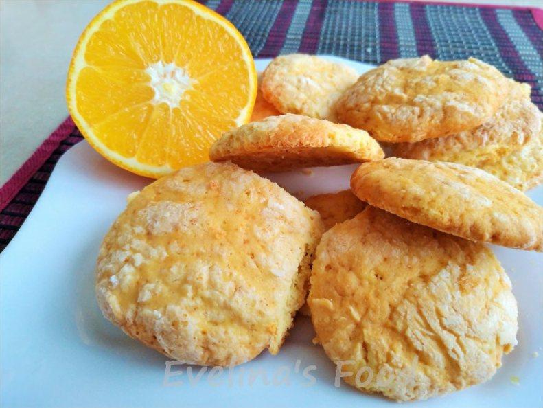 biscuiti cu portocala